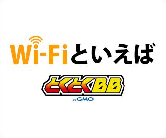 GMOとくとくBB WiMAX 2+接続サービス