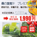 青汁「プレミアム乳青」お試し(税込500円)