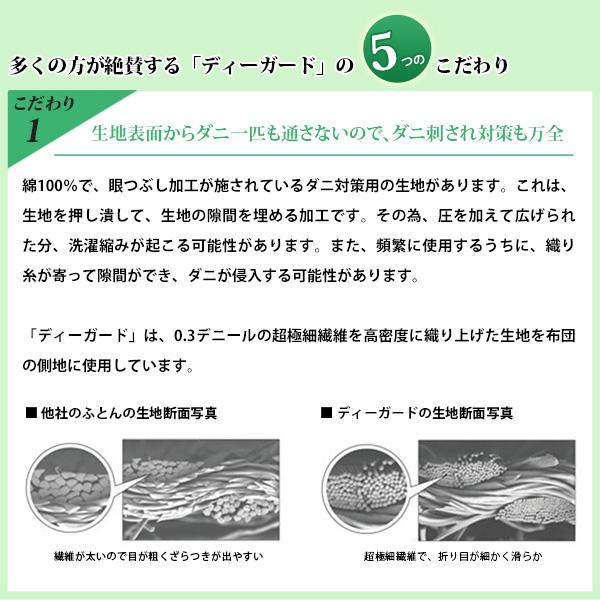 ディガード 超極細繊維 ダニ通過防止 ダニ刺され防止 高密度織物