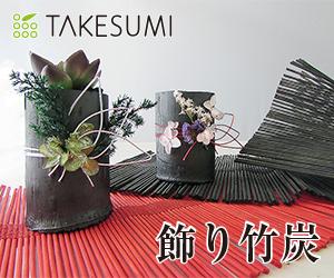 竹炭で作ったおしゃれな消臭インテリア【飾り竹炭|TAKESUMI公式通販サイト】