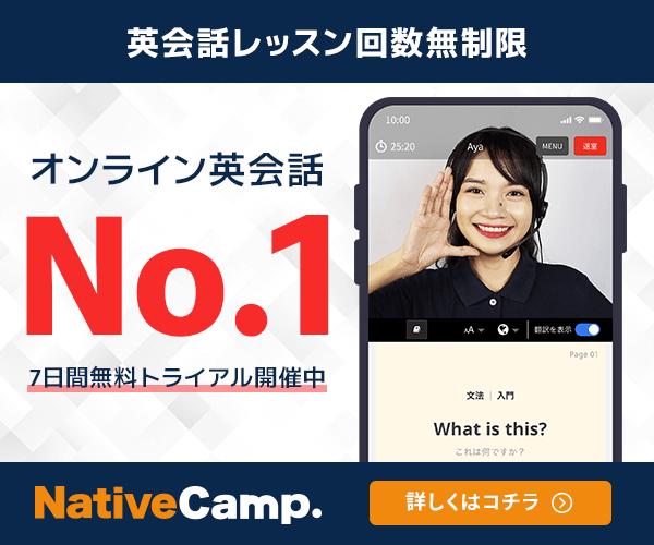 ネイティブキャンプ超初心者